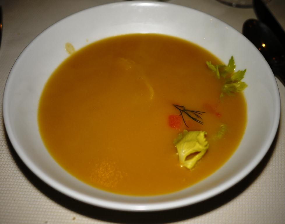 Equinox pumpkin soup