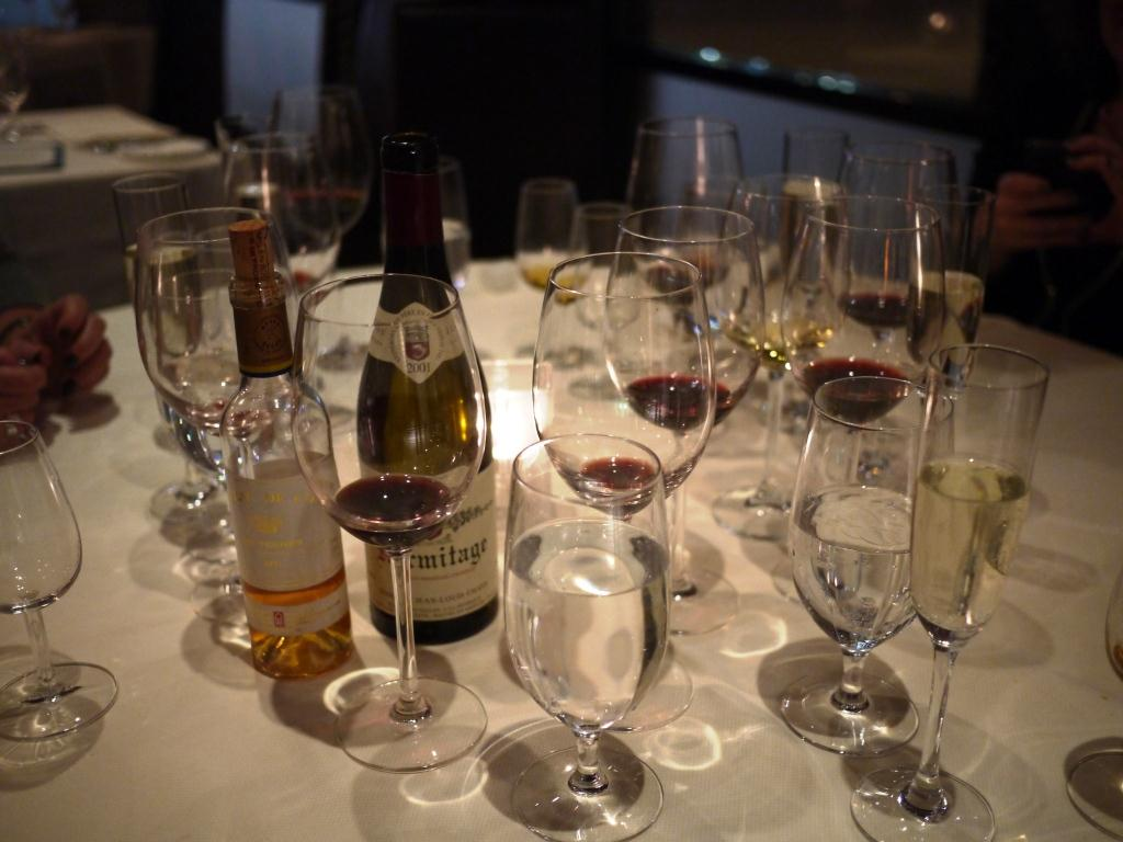 the perks of dining with a wine writer