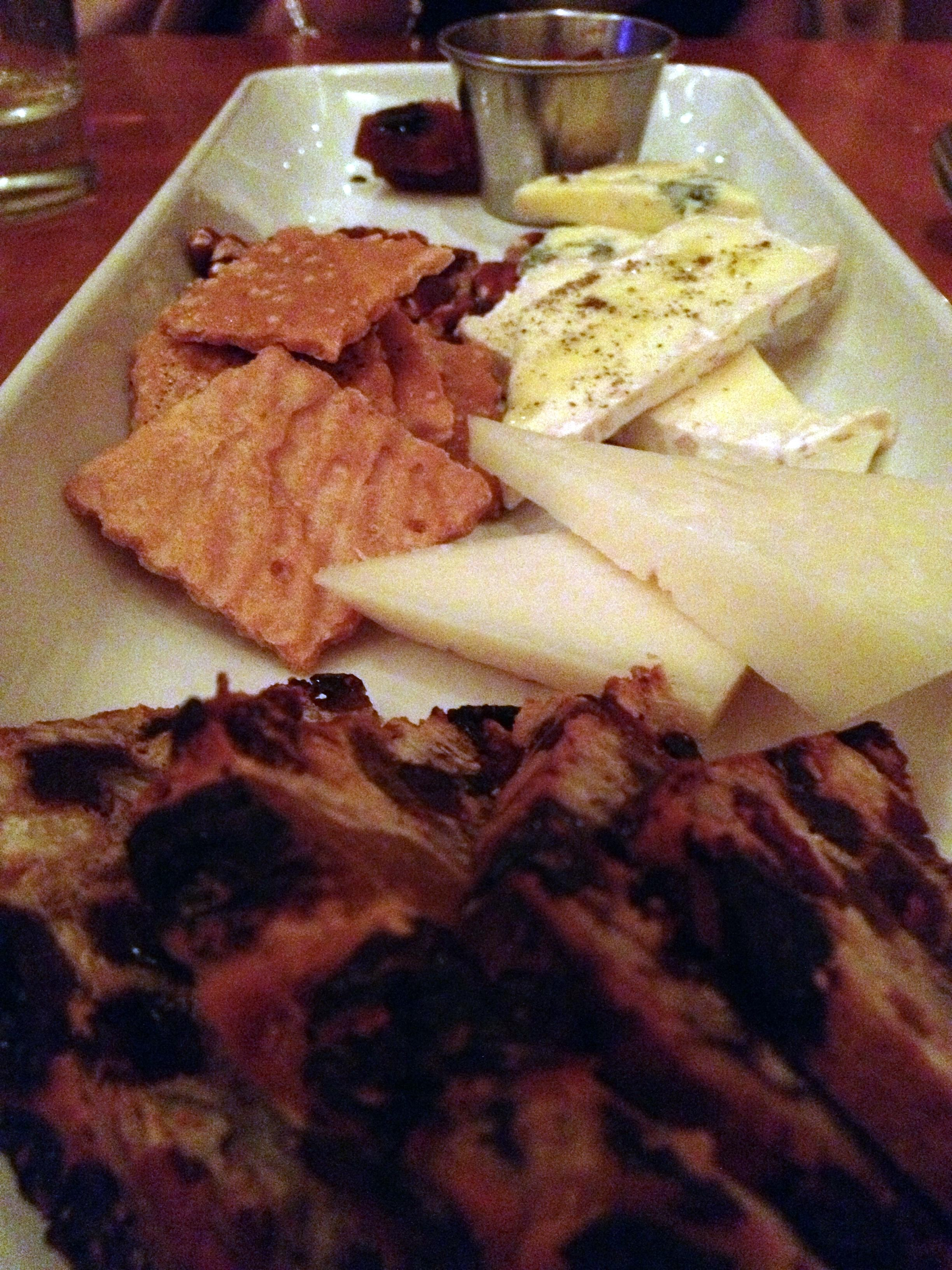 Majestic cafe cheese platter