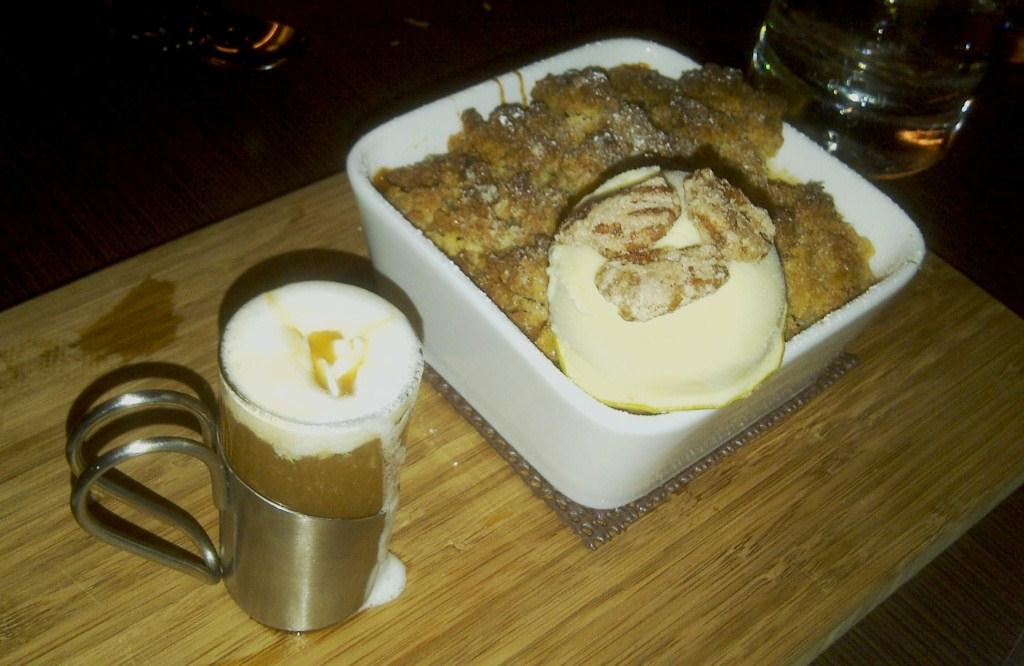 D Bar Apple Crisp