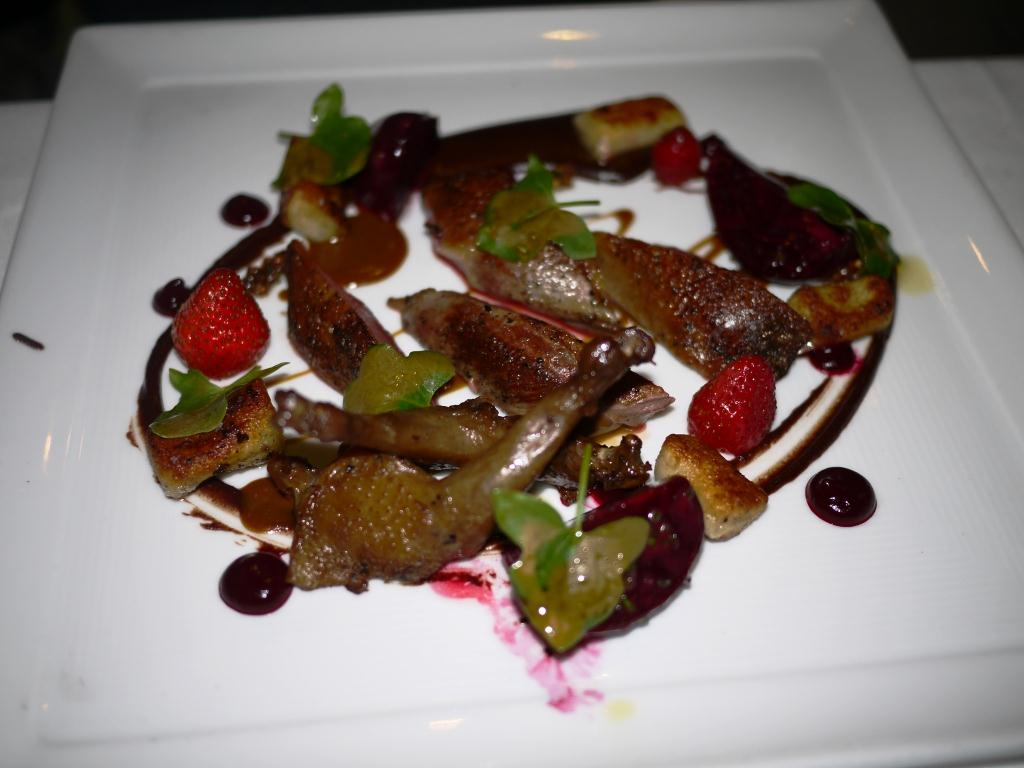 George's California Modern squab