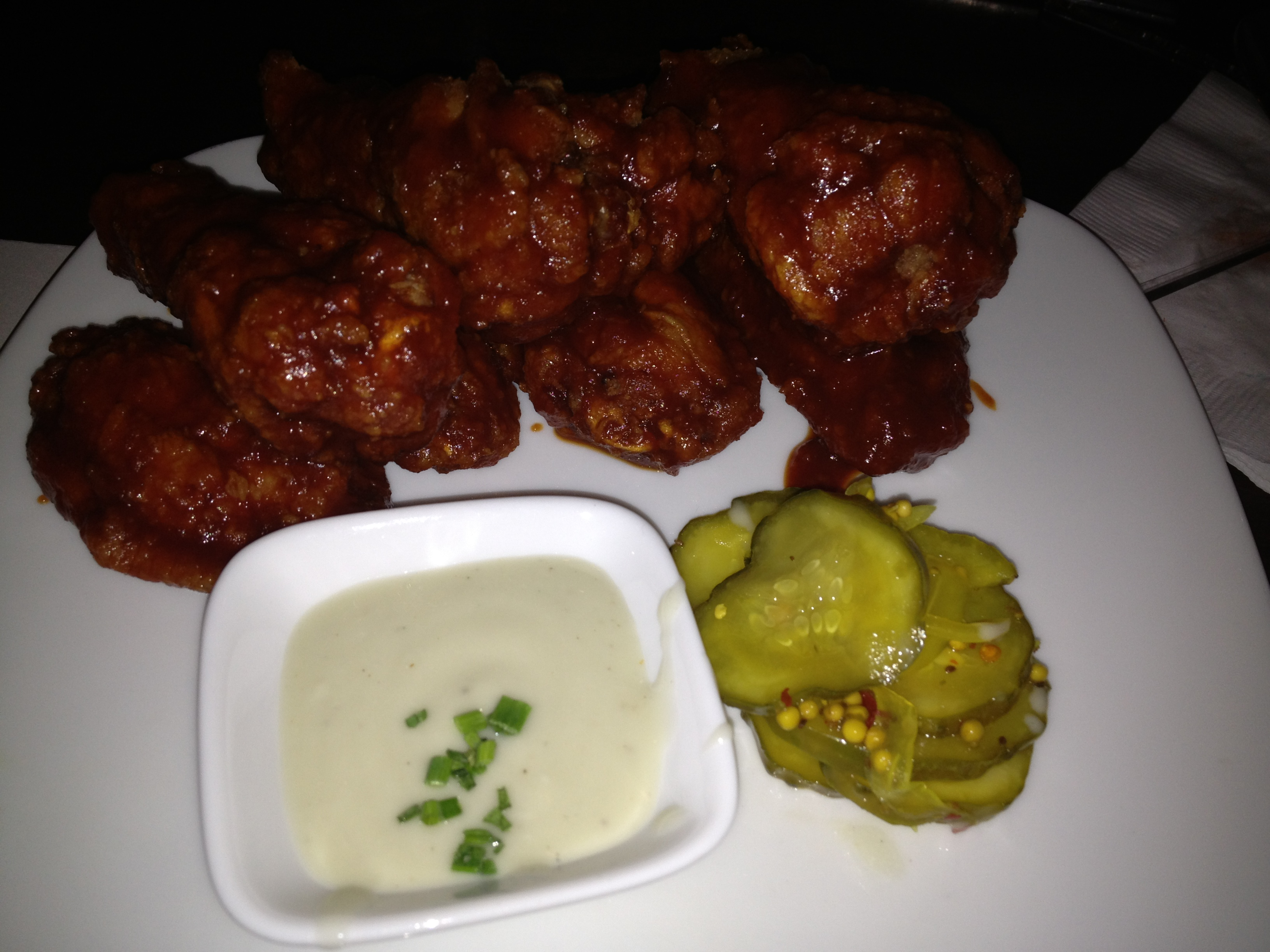 quench wings