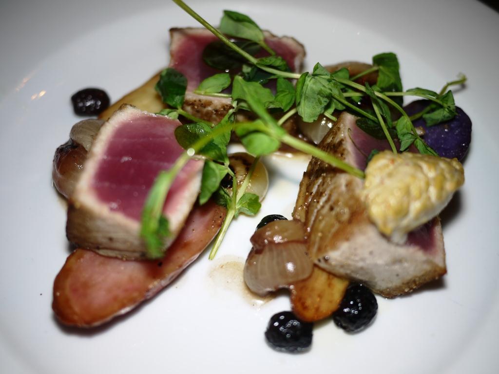 Glass Haus Kitchen Seared Tuna
