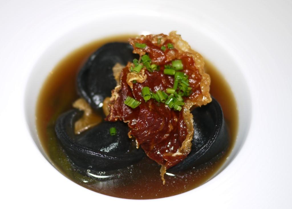 Glass Haus Kitchen Squid Ink Tortellini
