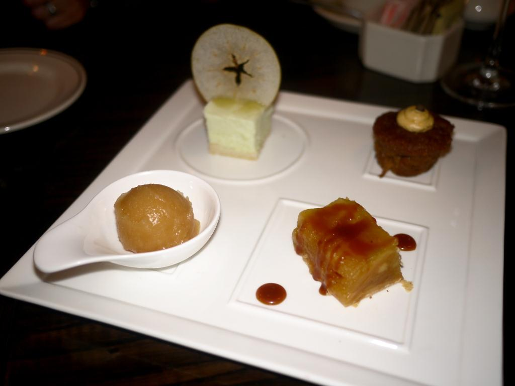 Woodward Table apple dessert