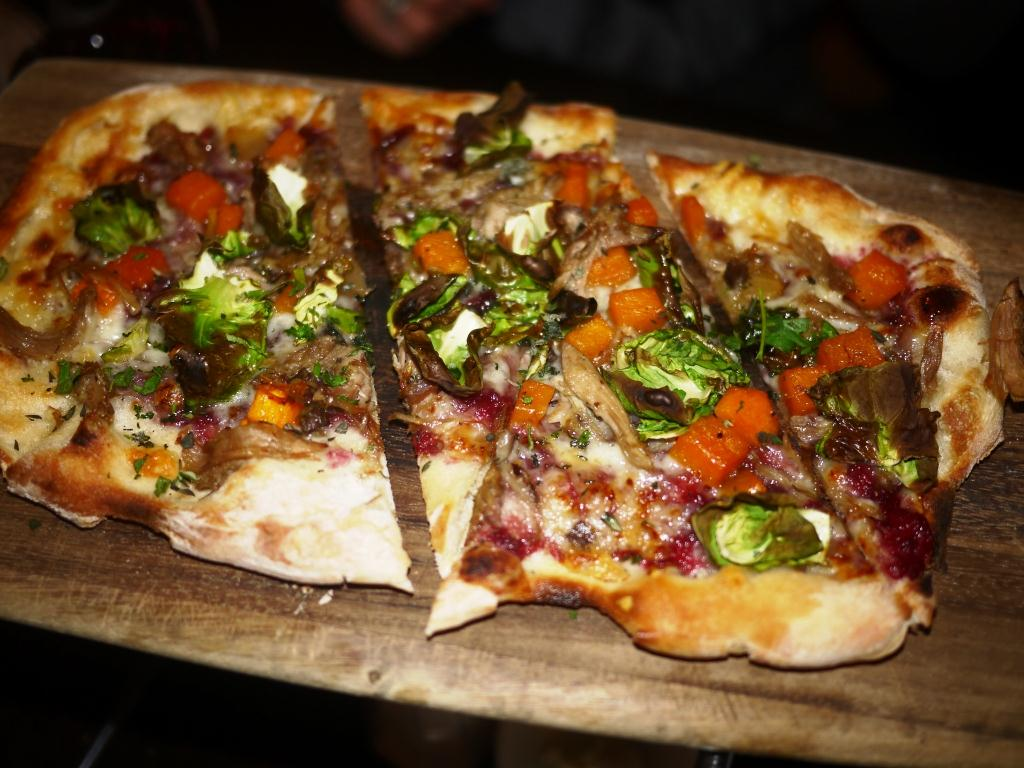 Woodward Table Duck Flatbread
