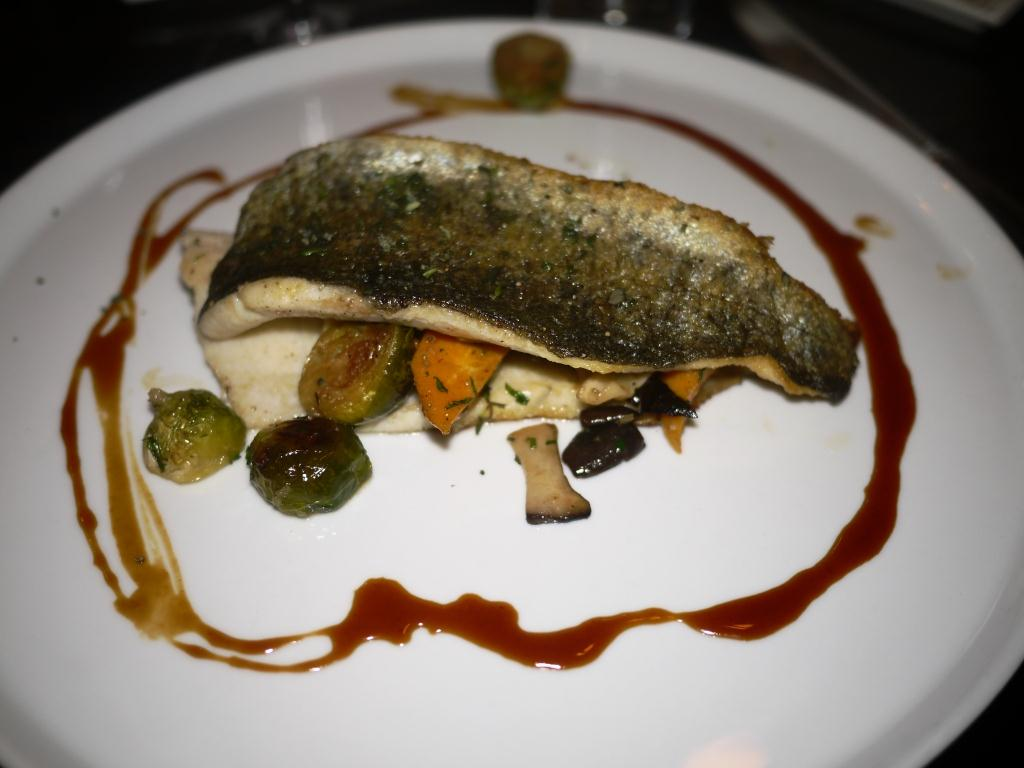 Woodward Table pan roasted trout