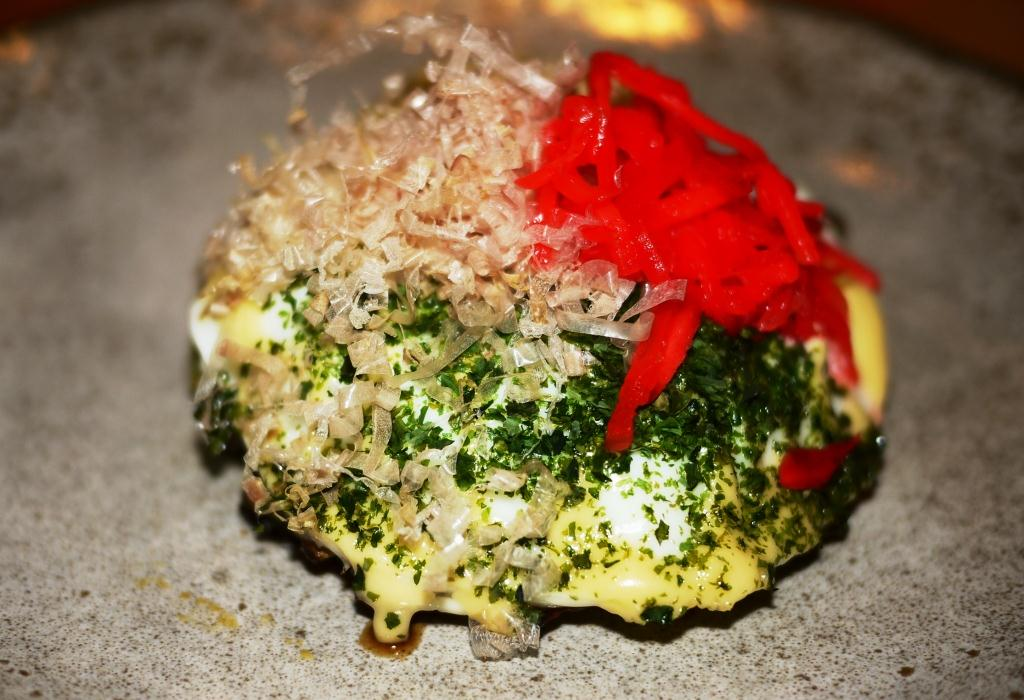 Pabu Maryland crab okonomiyaki