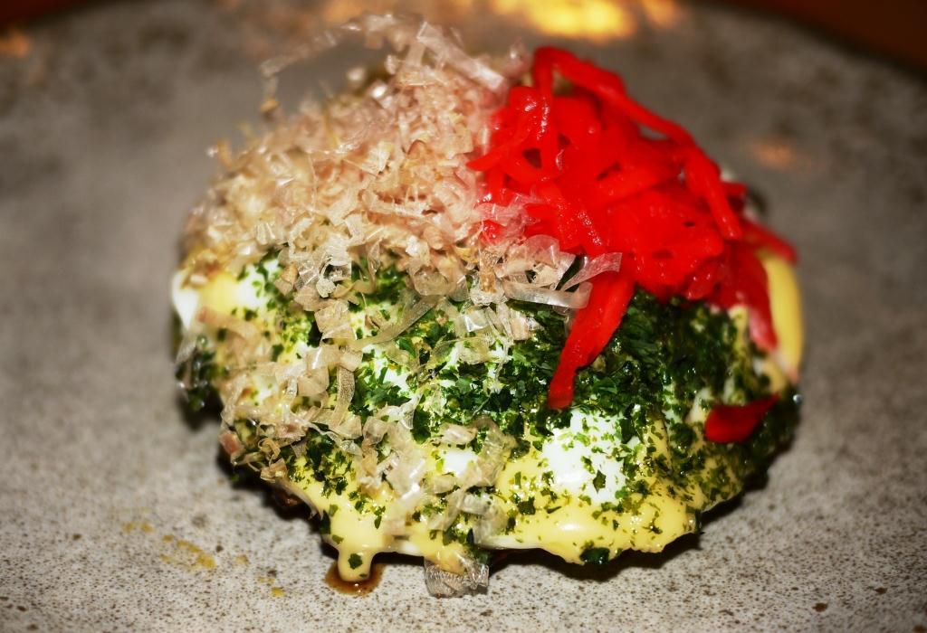 Pabu Maryland crab okonomiyaki