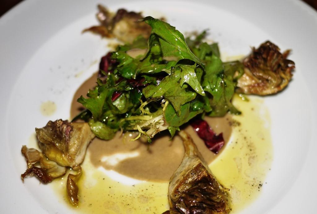 Osteria Elisir roman artichokes
