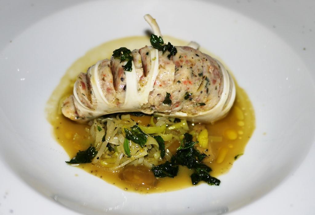 Osteria Elisir stuffed squid