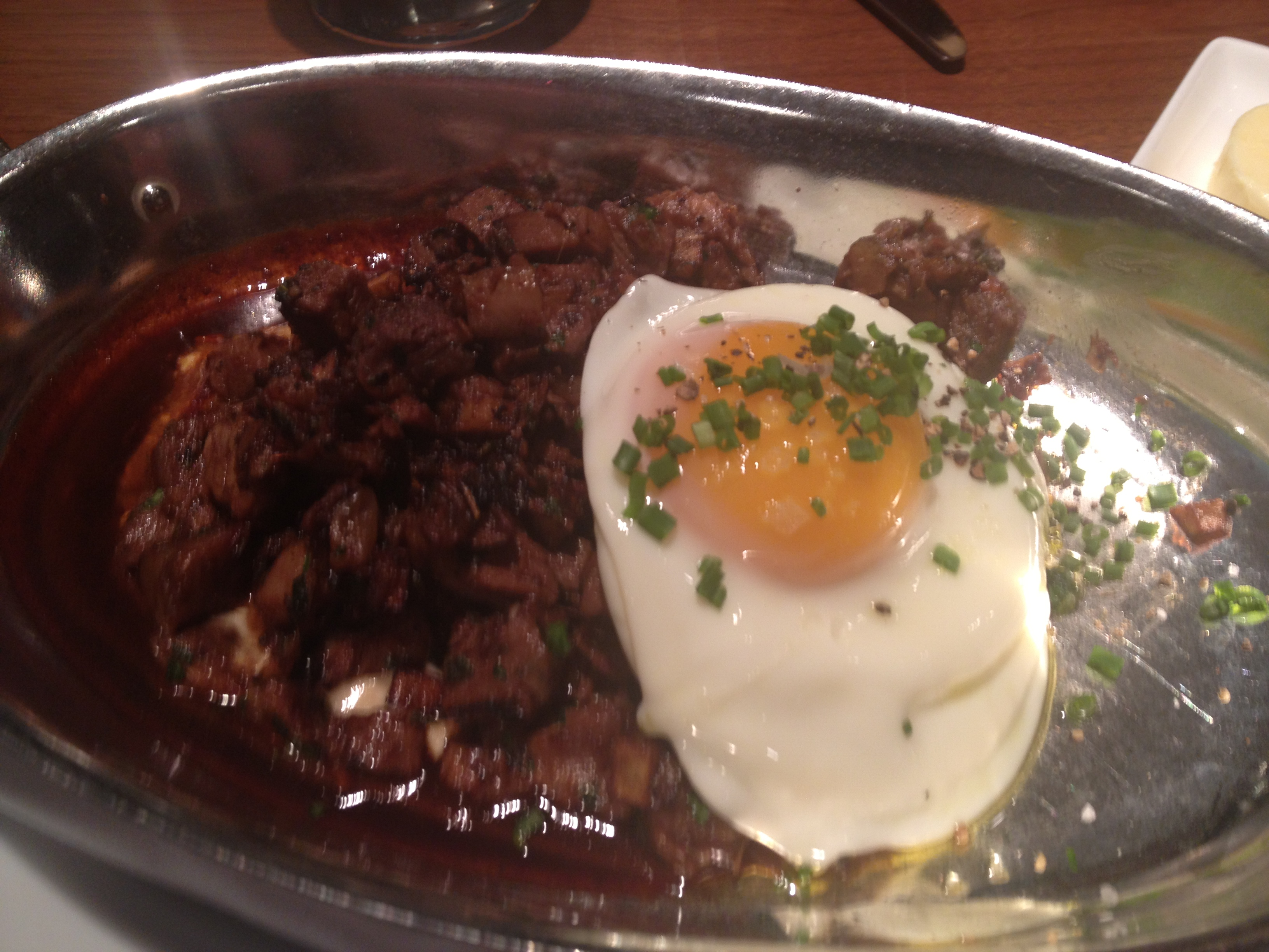 Blue duck short rib hash