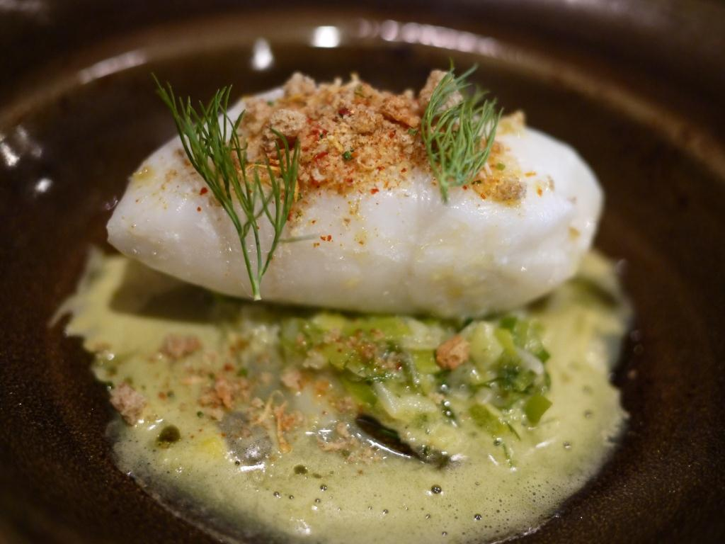 Kapnos Poached Cod