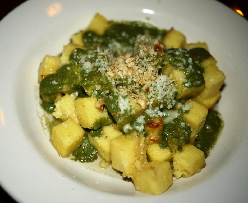 The Red Hen Gnocchi alla Romana with Hazelnut Pesto