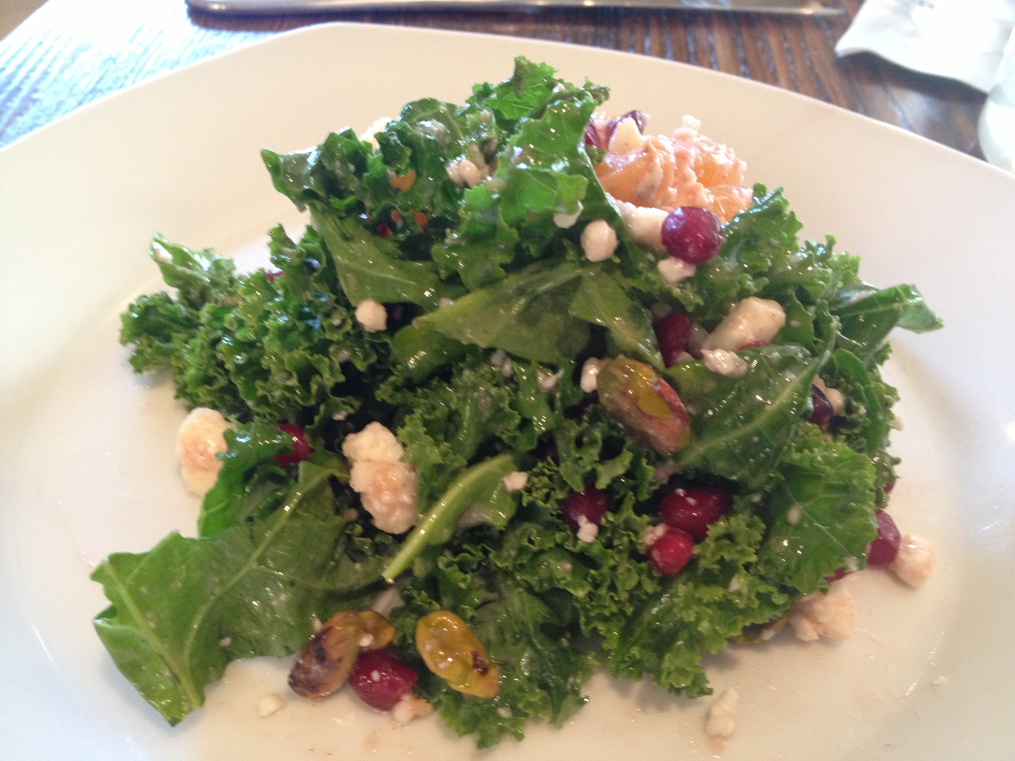 14 Global African clementine and kale salad