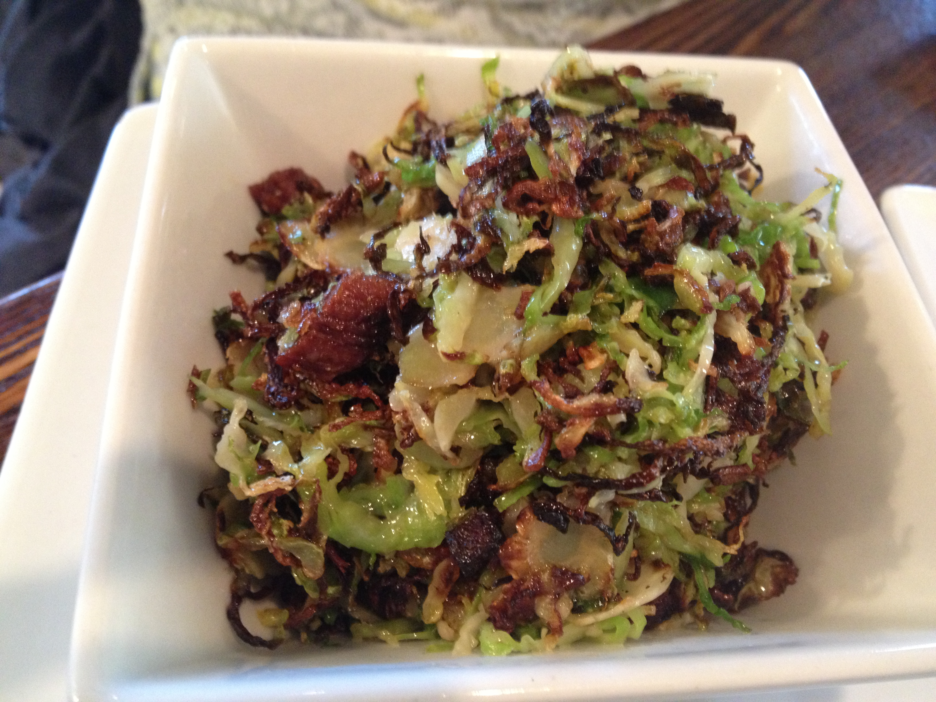 14 Global caramelized brussels sprouts