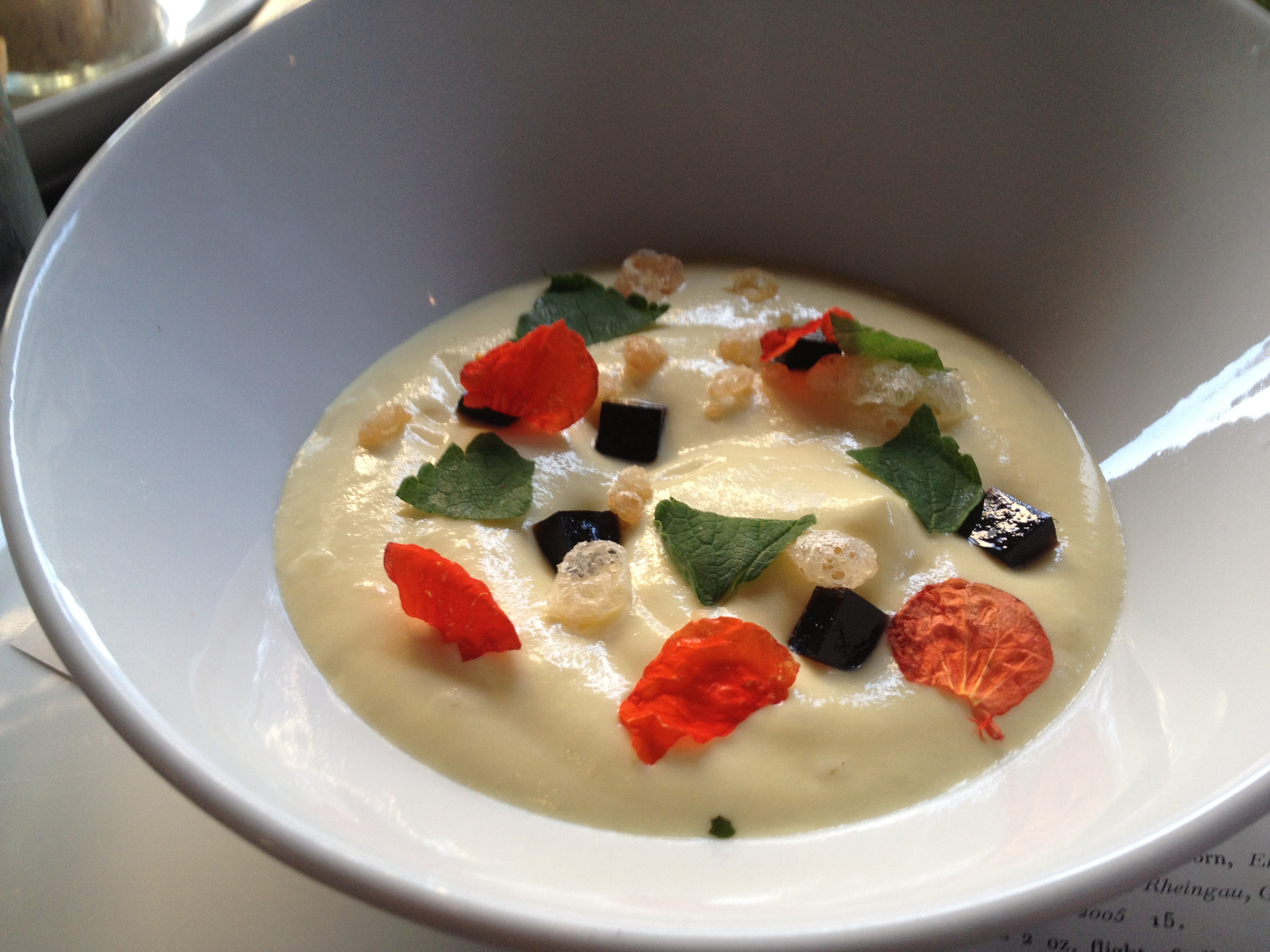 Empire State South Chilled Corn Soup