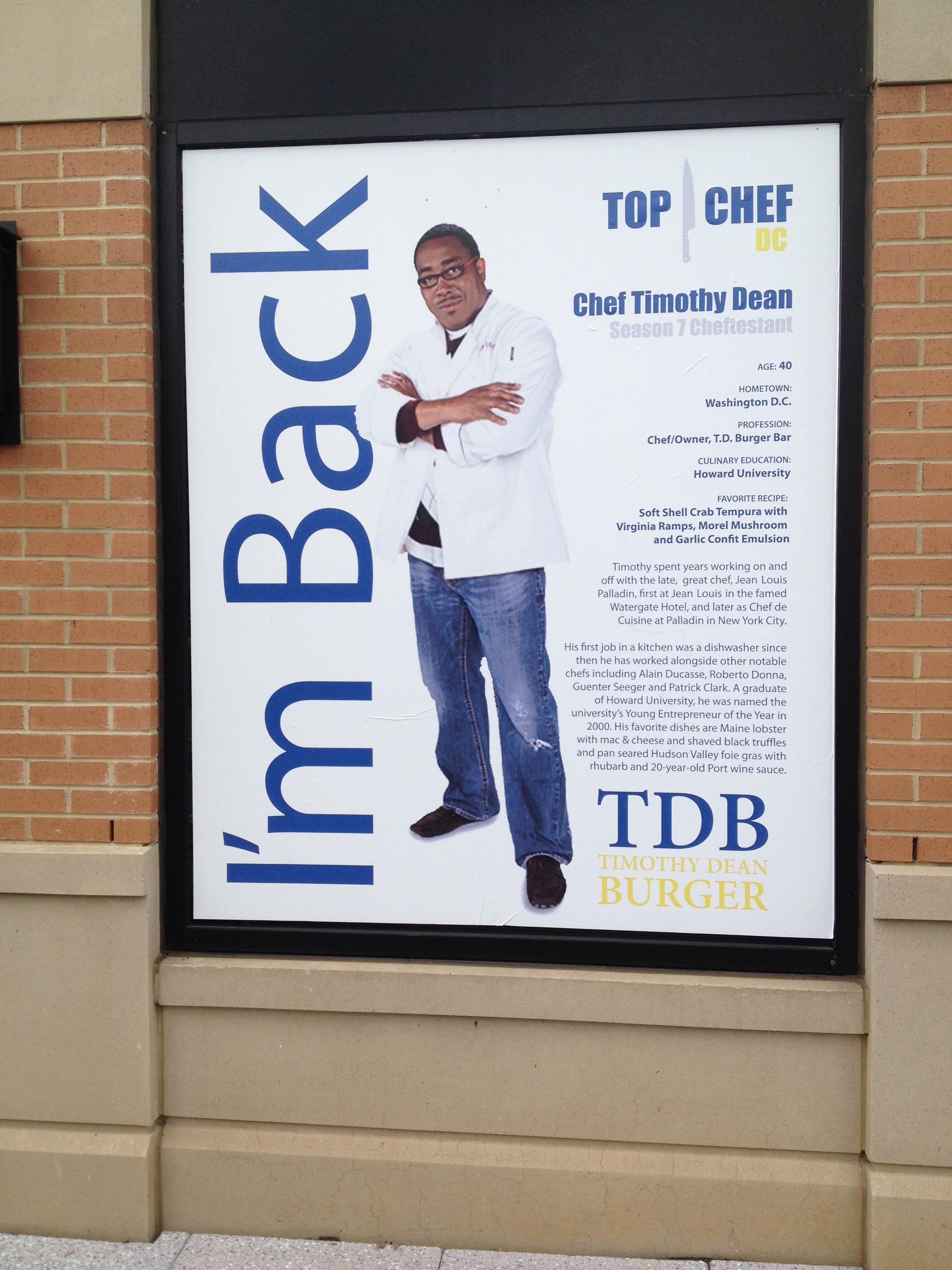 Timothy Dean poster