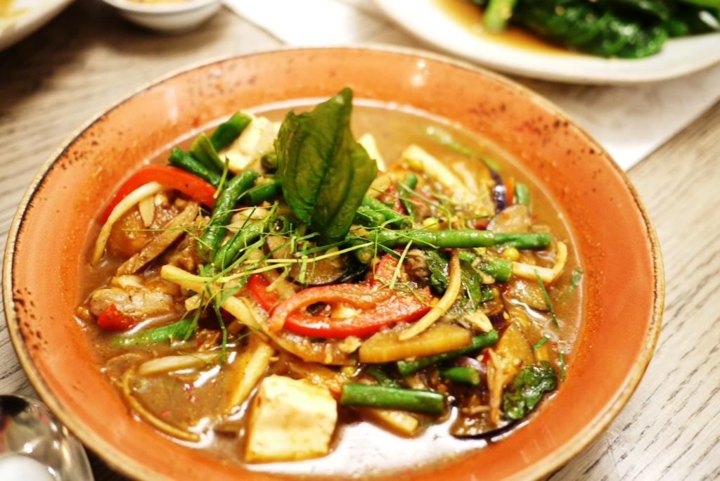 Doi Moi Gaeng Par Hed Tofu & Wild Mushroom Curry