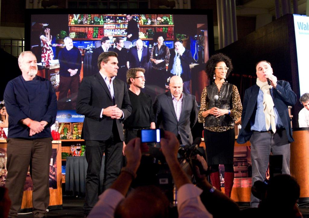 apital food fight Carla Carla Hall, Jose Andres, Tom Colicchio, Rick Bayless and Art Smith