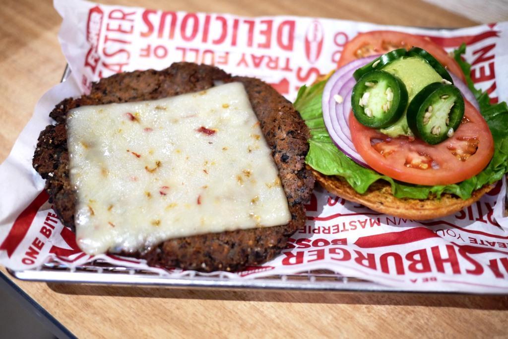 Smashburger Veggie Burger