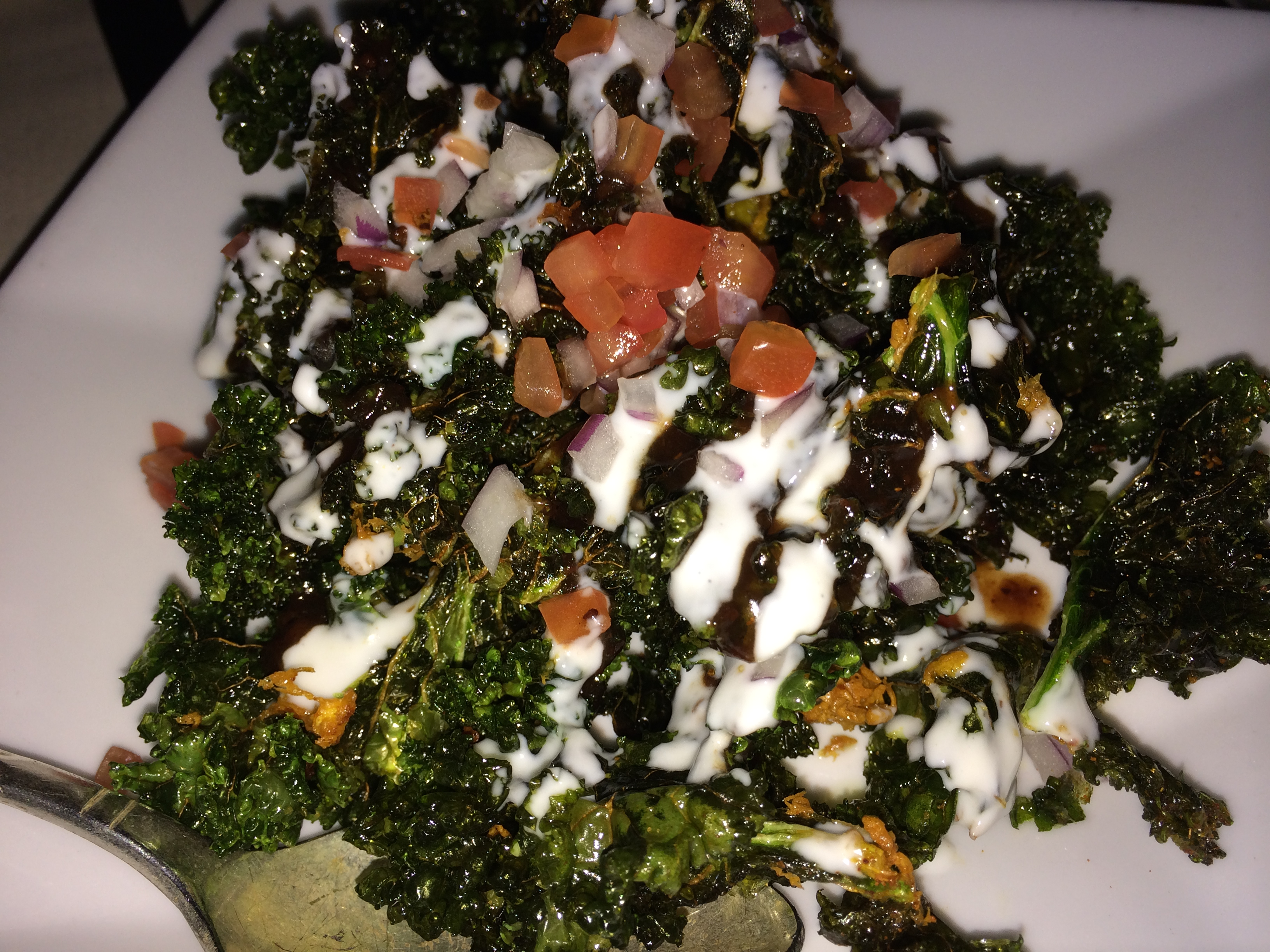 Bombay Club kale chaat
