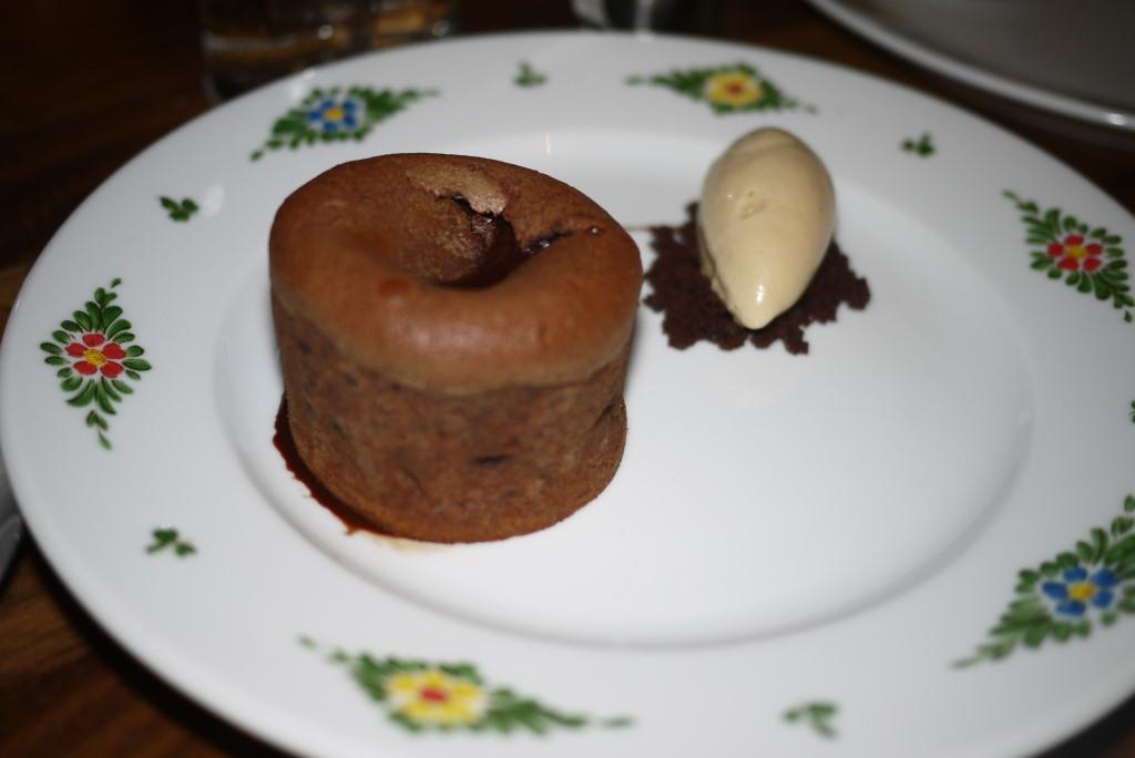 Osteria Morini Tortino Al Cioccolato