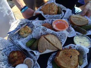 Zingerman's Deli sandwiches