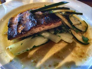 Nightwood grilled lake trout