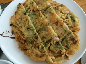 Moa vegetable pancake