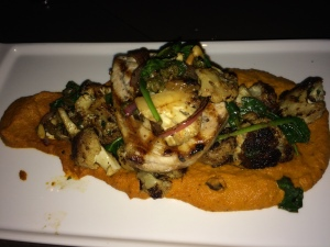 Pinea grilled swordfish
