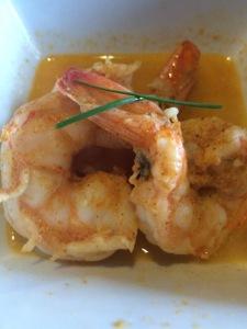 Taste shrimp