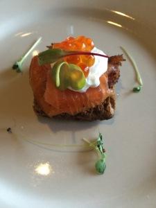 taste salmon roe
