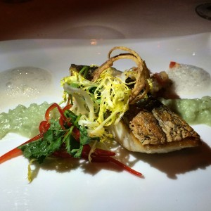 Marcel's European sea bass