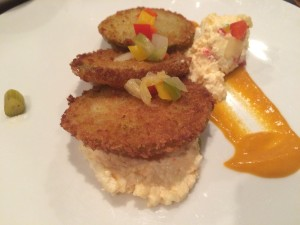 Barrel and Crow Fried green tomatoes