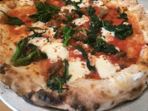 Naples barese pizza