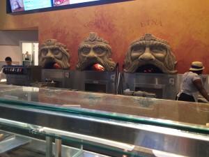 Naples pizza ovens