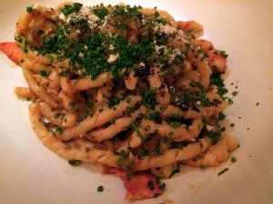 Upland pasta with lobster.JPG