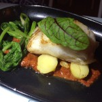 Nido pan seared cod