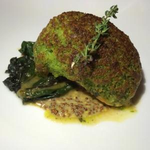Garrison herb crusted hake