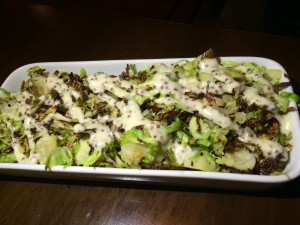 Vedge brussels sprouts