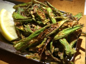 Bollywood Theater fried okra