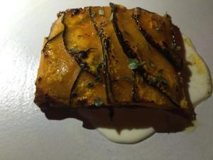 Semilla squash tart