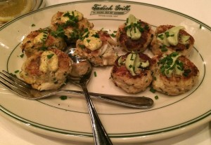 Tadich Grill crabcakes