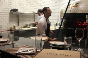 Inferno Pizzeria pizza oven