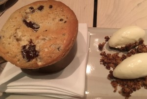 Kinship chocolate chip souffle