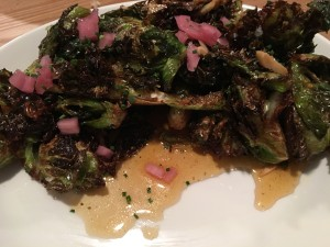 Kapnos Kouzina brussels sprouts