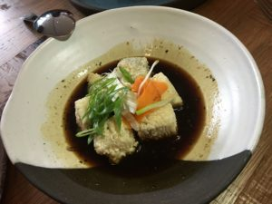 Kyirisan deep fried tofu