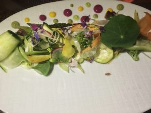 Masseria spring vegetable salad
