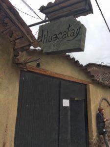 el-huacatay